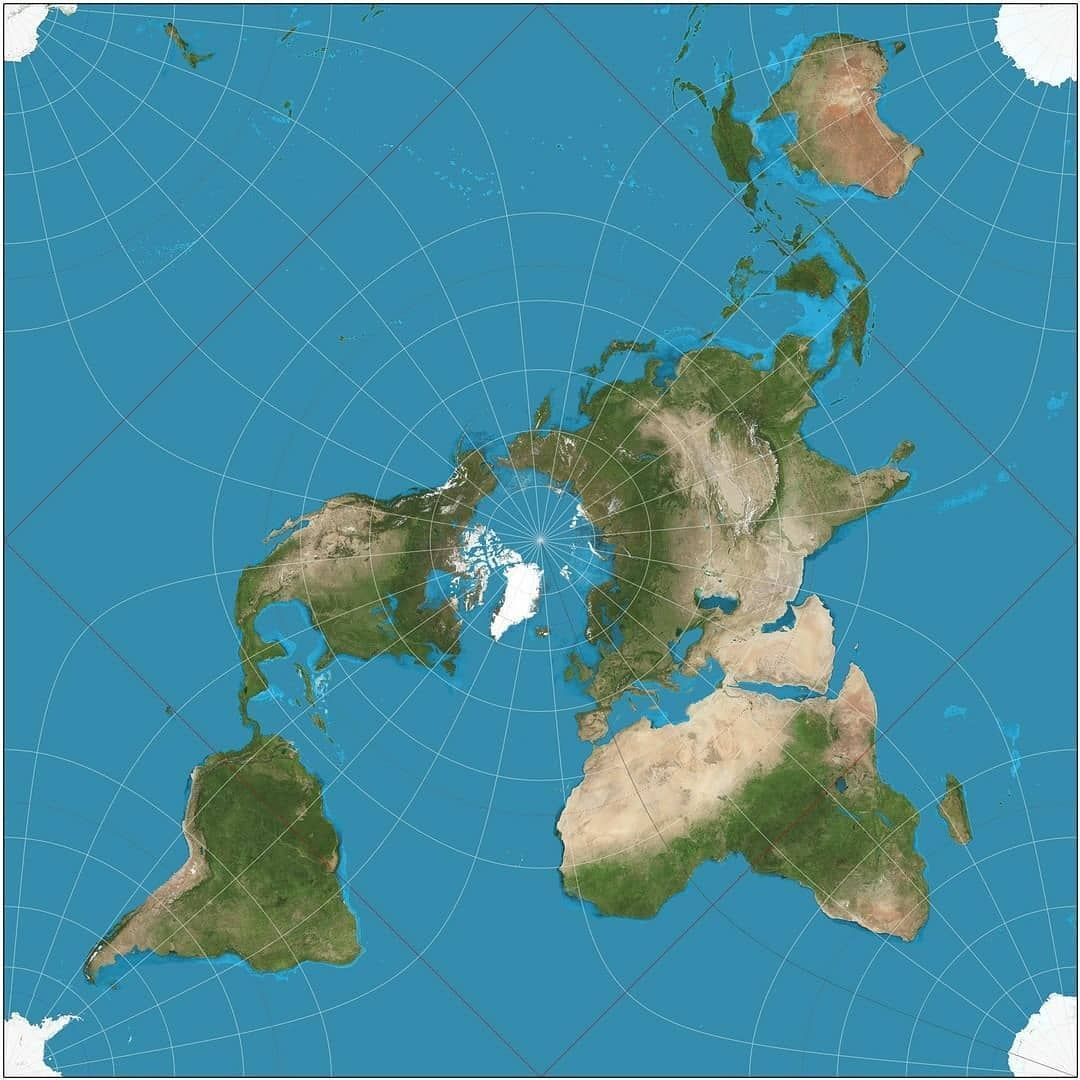 Iceland And Greenland World Map.Mapscaping On Twitter Arctic Centric World Map Artic Worldmap
