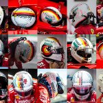 #FactFriday | #Seb5 has had a unique helmet design for every Grand Prix this season. Which one was your favourite? 🤔 #ForzaFerrari