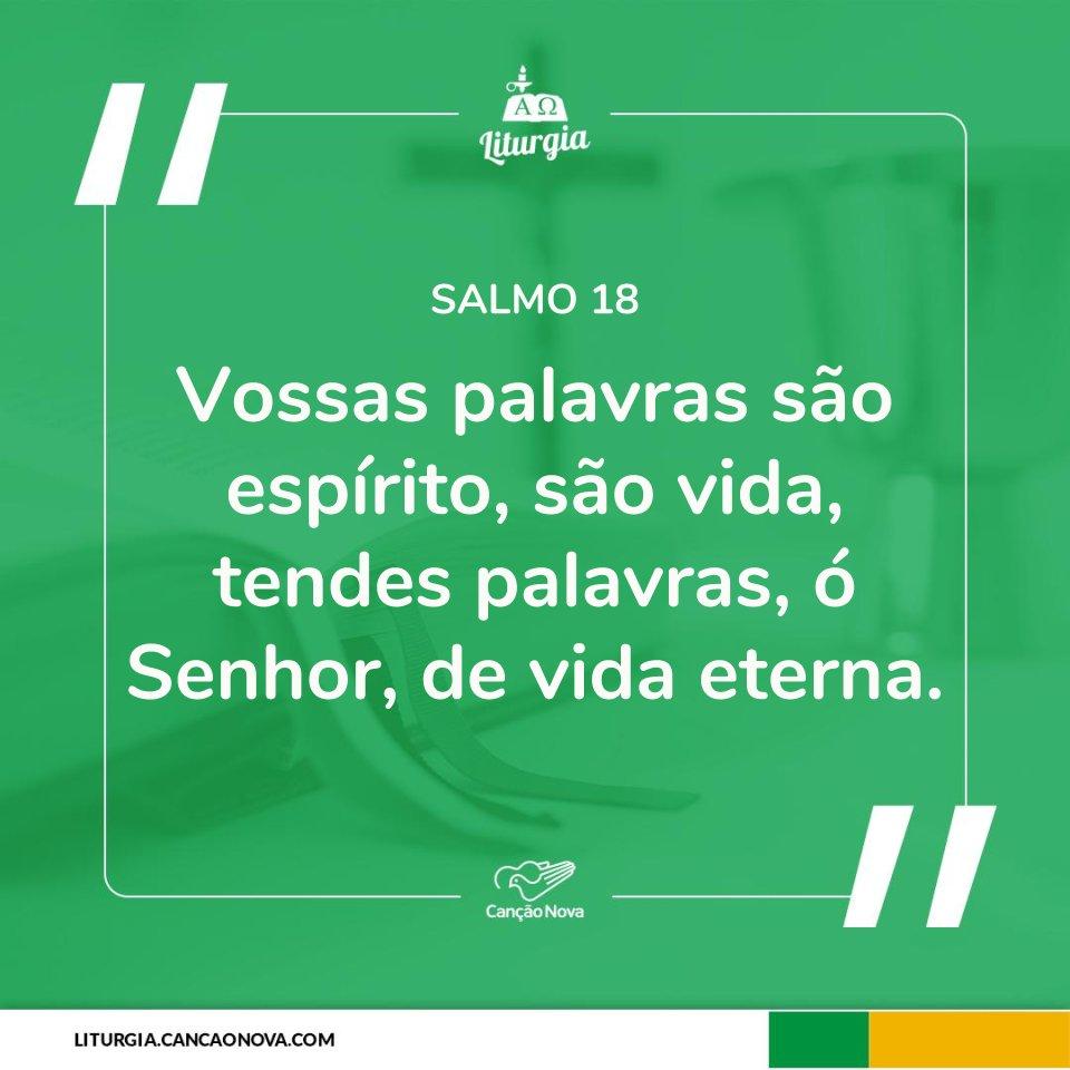 RT @cancaonova: #Salmo #Liturgia https://t.co/OUdQVdkL6z https://t.co/0YetutgZX6