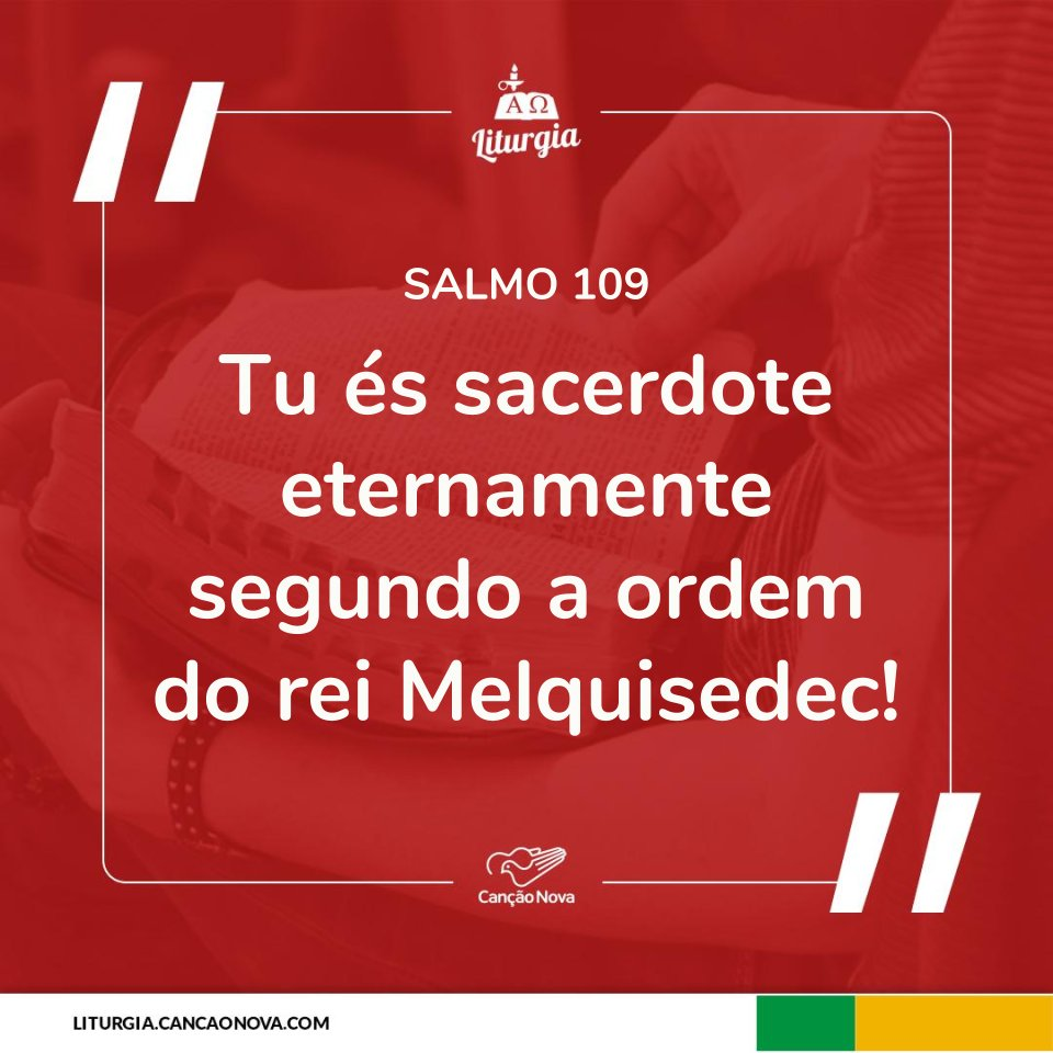 RT @cancaonova: #Salmo #Liturgia https://t.co/OUdQVdkL6z https://t.co/vtVhi59vnd