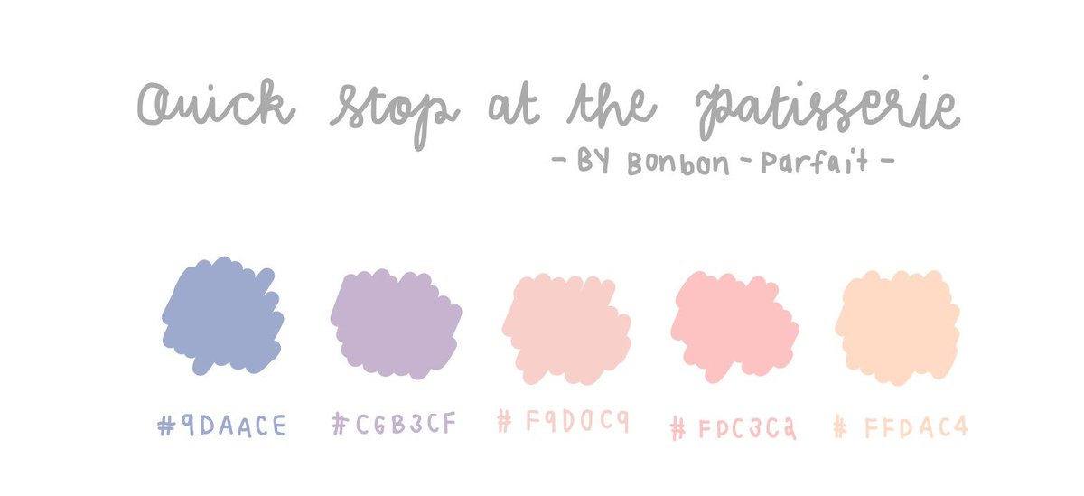 Pastel GoodNotes Color Palette Cr  Pinterest Tweet added by