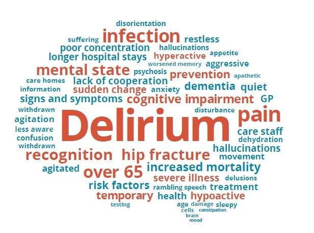 why is delirium mistaken for dementia