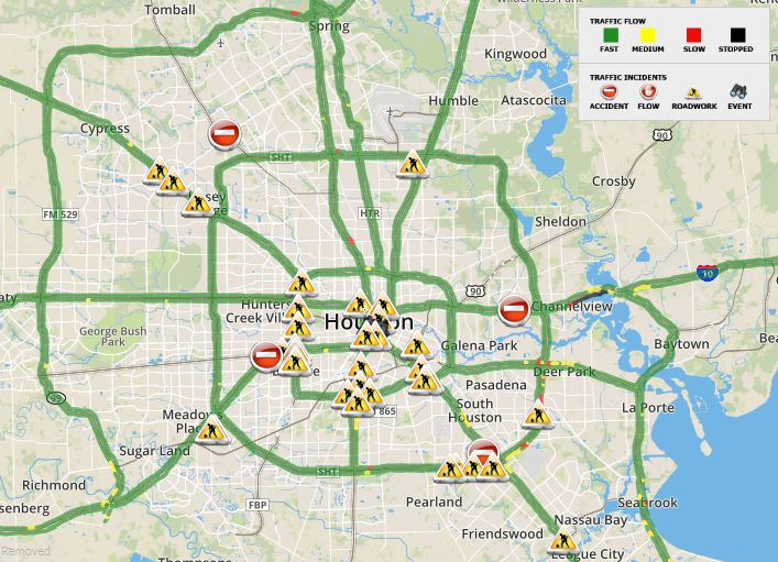 Current Traffic Map Latest News Breaking Headlines And Top Stories