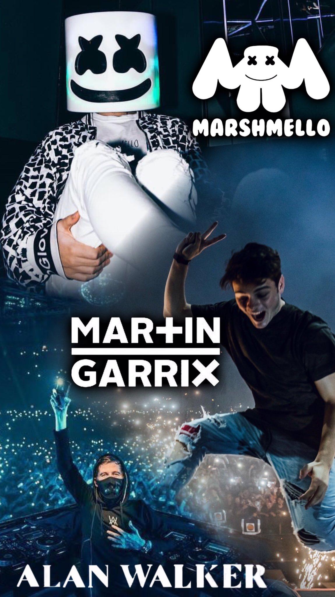 Dj壁紙 On Twitter Marshmello Marshmello Vs Martingarrix
