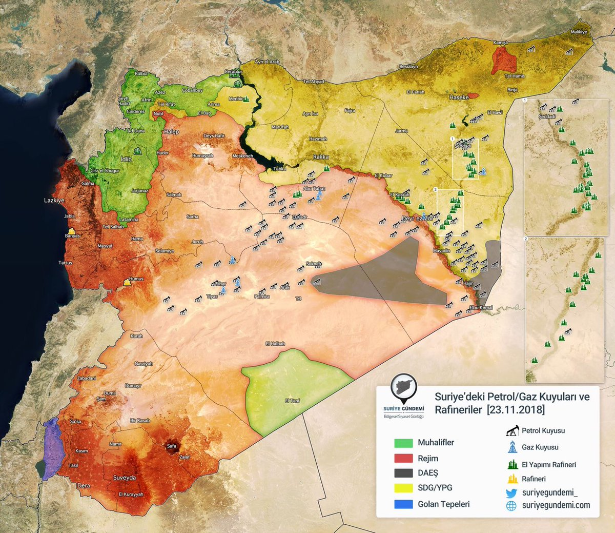 Smm Syria On Twitter In Case You Have No Hacking Idea Of Why - Us-oil-fields-map