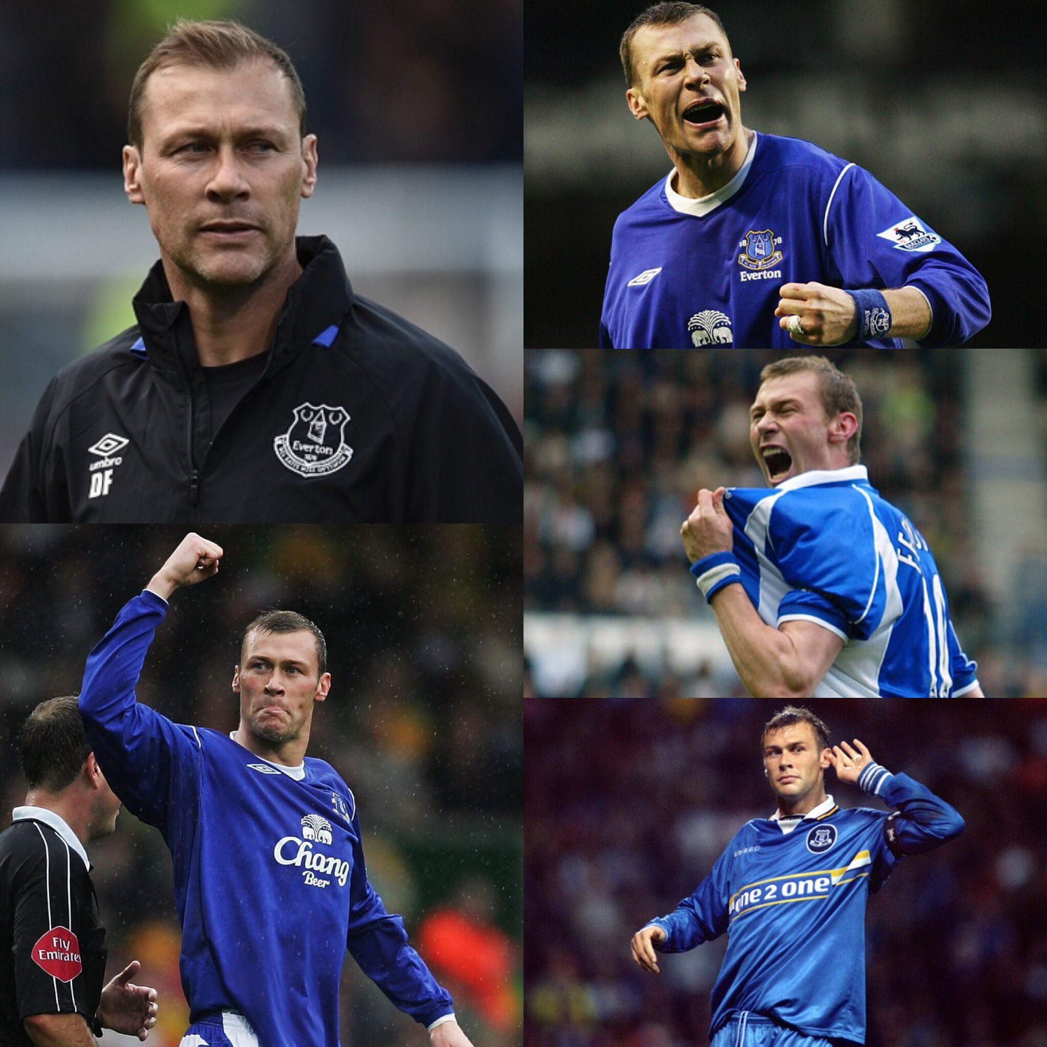 Happy 47th Birthday to Everton legend and first team coach Duncan Ferguson