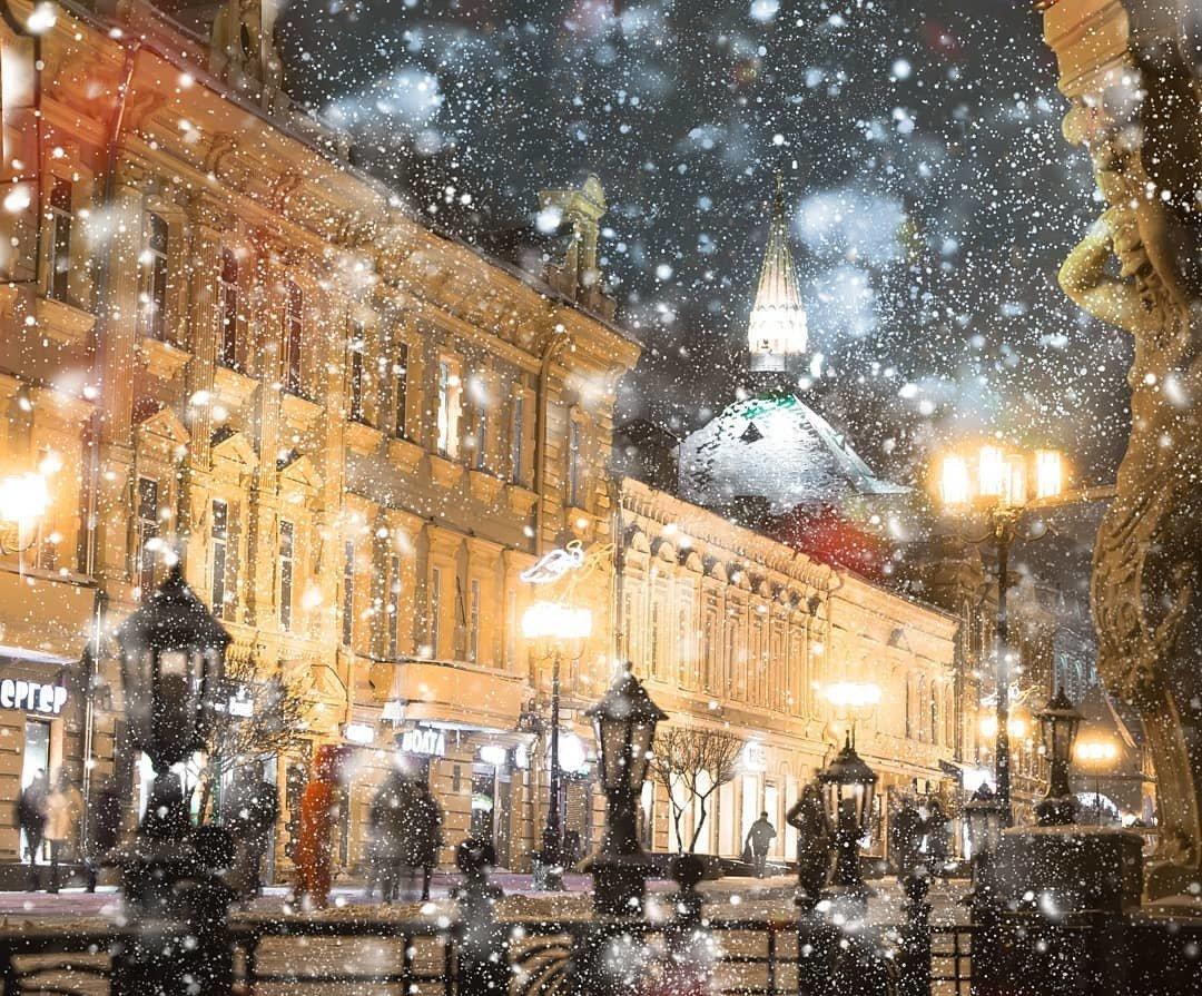 Картинка нижний новгород снег служишь
