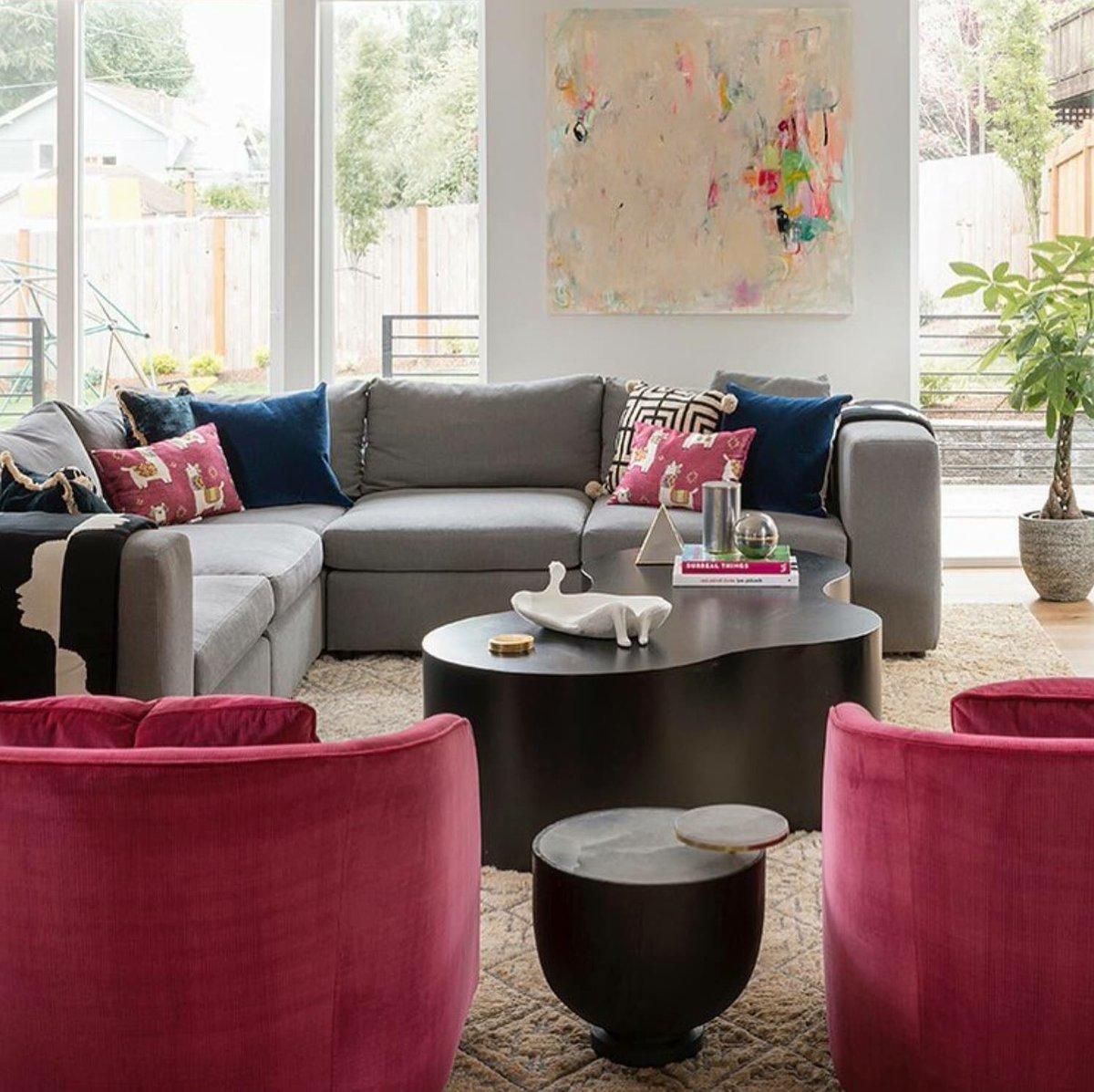 Bernhardt Furniture On Twitter Playful Modern Family Room Interior