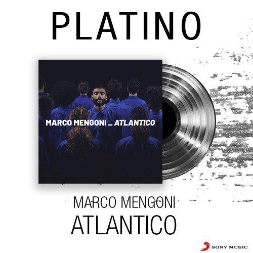 #Atlantico è disco di PLATINO! 🏆 Complimenti @mengonimarco 💥 #atlanticoplatino