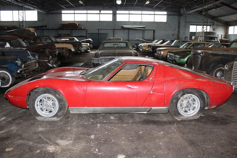 Classic Cars Motorcycles On Twitter Barnfind Lamborghini