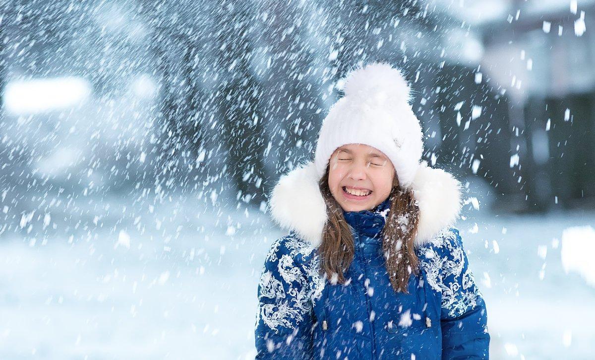 Картинка снег на голову