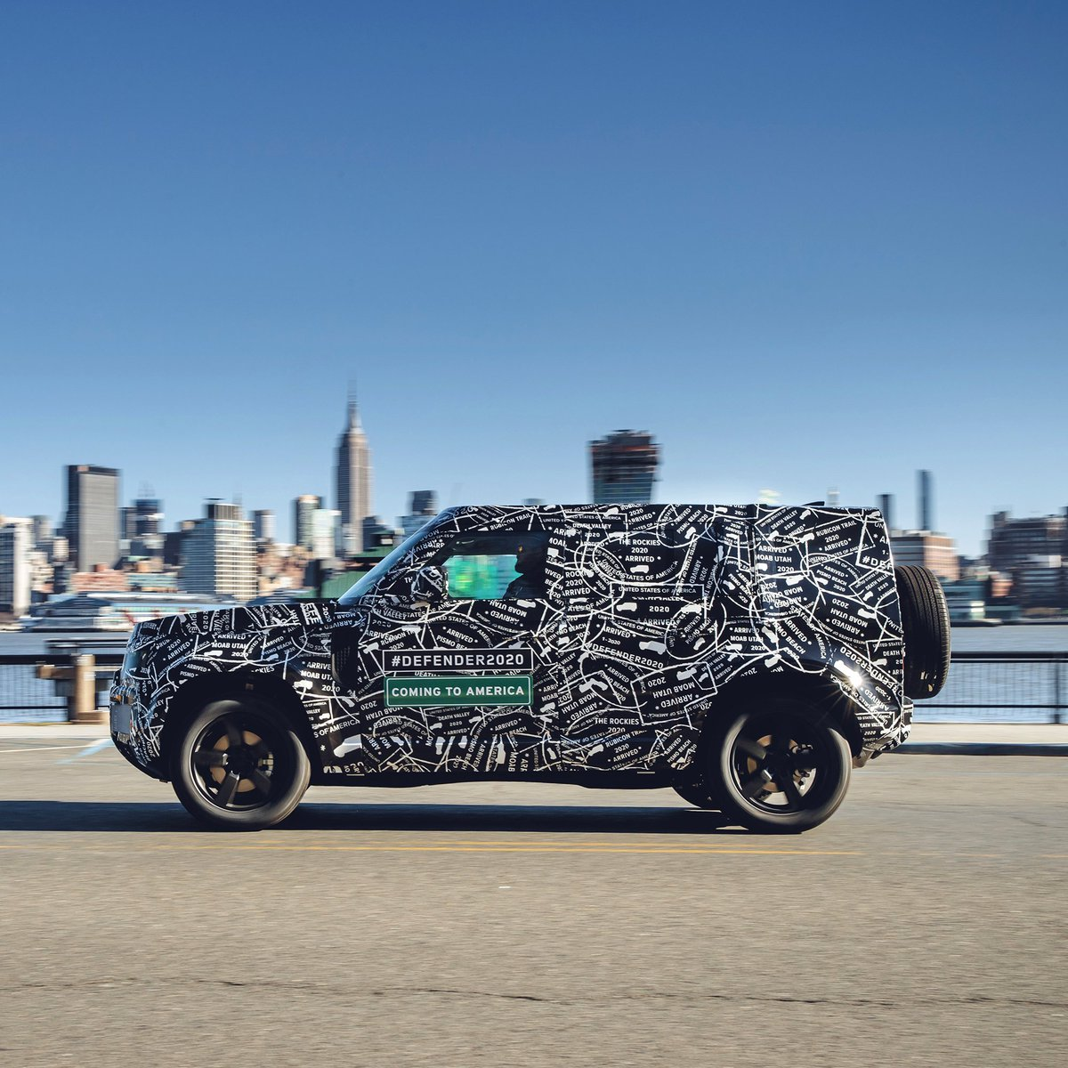 Land Rover Usa On Twitter The All New Land Rover Defender Returns