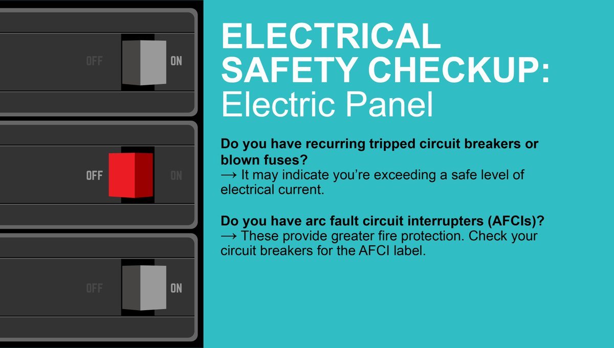 Novec Twitter Circuit Breaker Labeling A Better Way Also Check For Arc Fault Interrupters Labeled As Afci Which Provide Greater Fire Protection Safetyfirst More Safety Tips