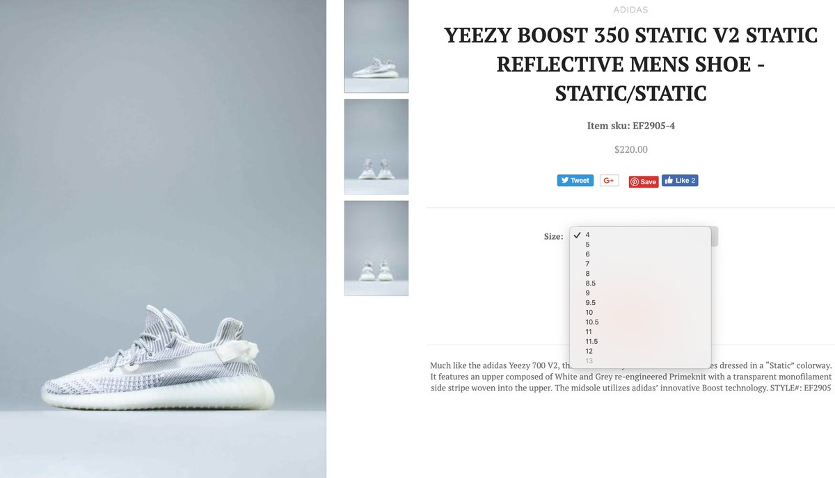 adidas Yeezy Boost 350 V2 Sizing Info | Nice Kicks