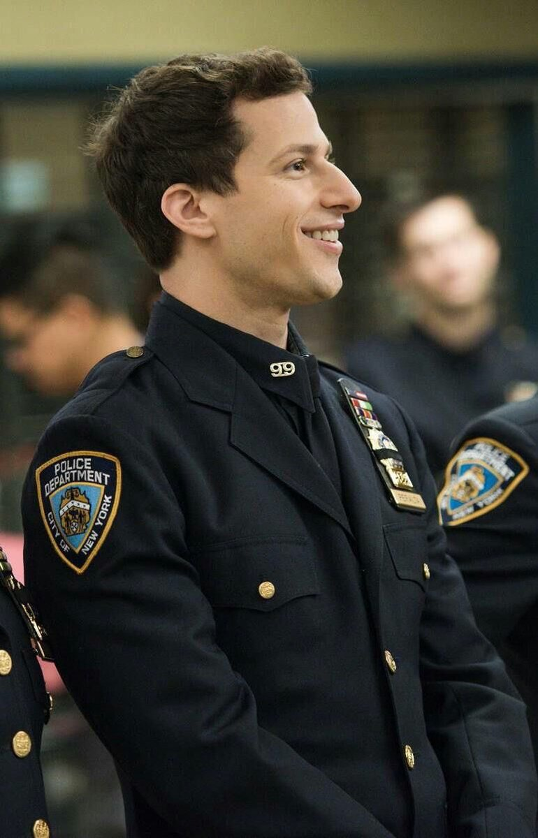 Jake Peralta Wearing These Uniforms Is A Masterpiecepictwitter Y4vXBKuvqP