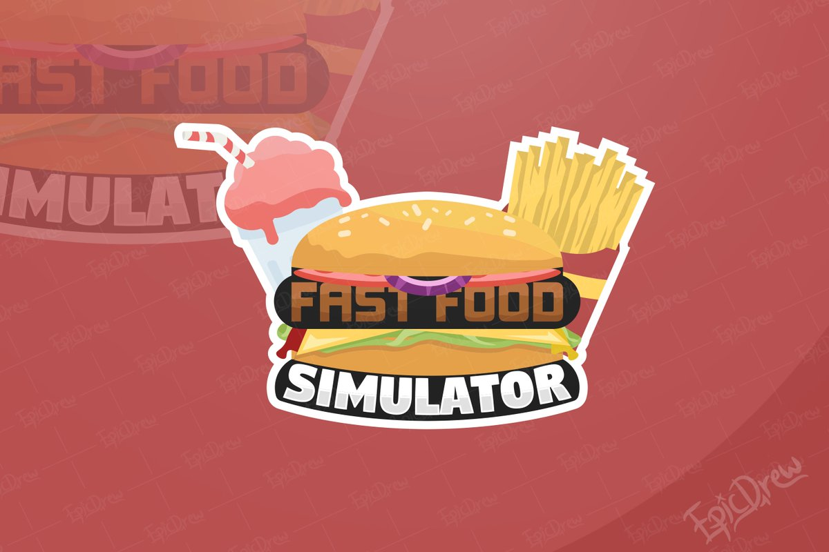 Ep1cdrew On Twitter Food Commission Logo For The Game Fast