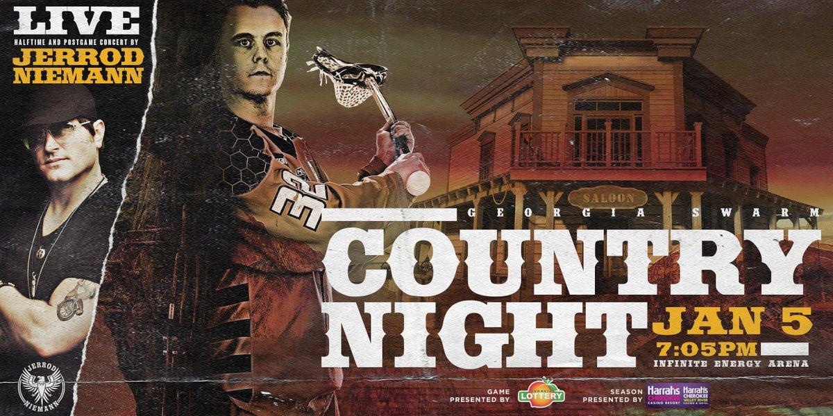 🔜 Country Night feat. @jrodfromoz   Tickets ➡️ http://GeorgiaSwarm.com/CountryNight   #StingCity