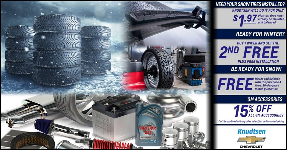 Mount And Balance Tires >> Knudtsen Chevrolet On Twitter Get Your Vehicle Ready For