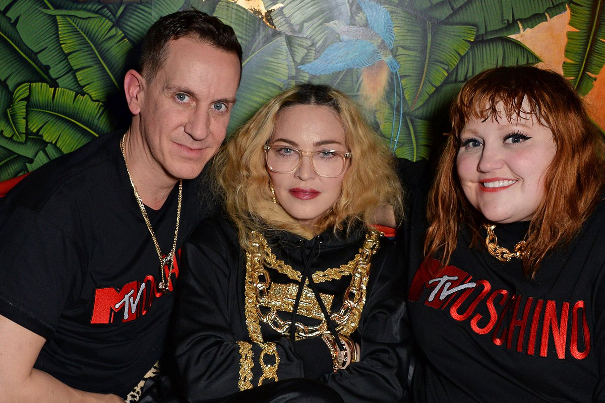 Despite her busy schedule, Madonna took some time to support her friends' projects, she showed up at Stella McCartney's and Jeremy Scott's launch parties in London and flew to Paris to attend @JPGaultier's #FashionFreakShow http://news.madonnatribe.com/en/2018/madonna-at-the-moschino-x-hm-party/… #TBT #Madonna2018
