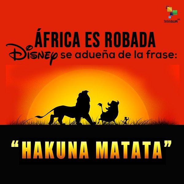 Disney Hakuna Matata Patentar Idioma Disney Cree Famosa