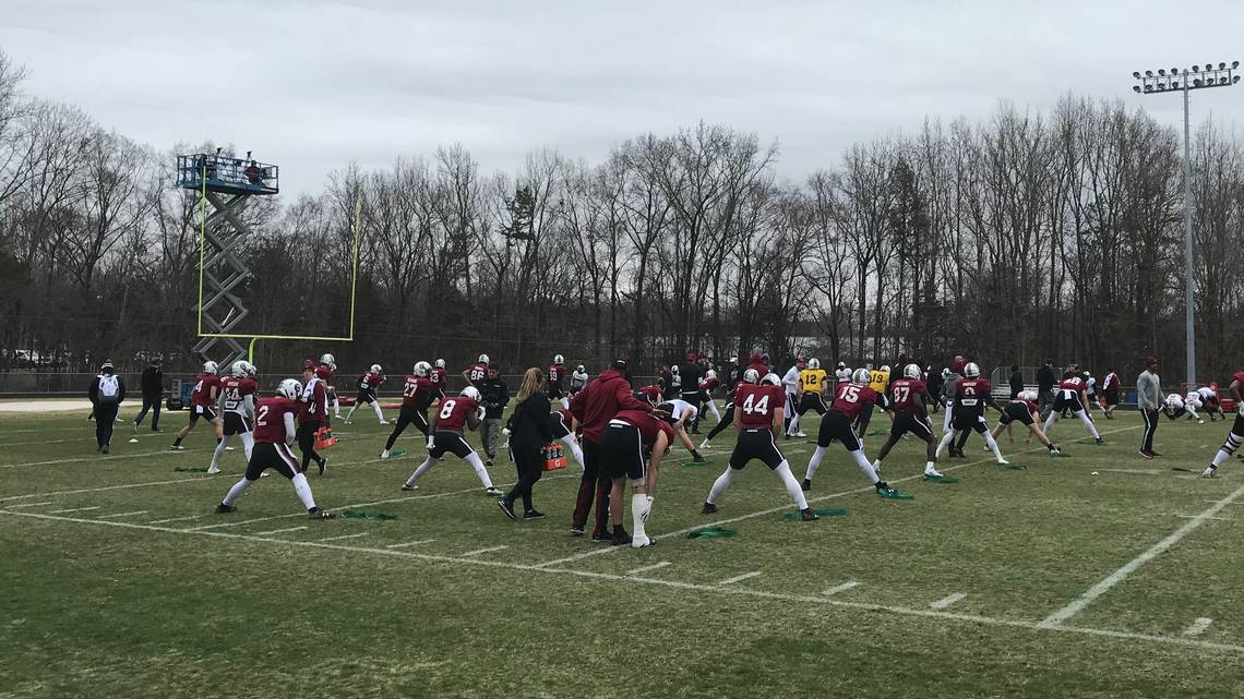 South Carolina bowl practice observations: Deebo, four-star RB drop in dlvr.it/QvSs8p