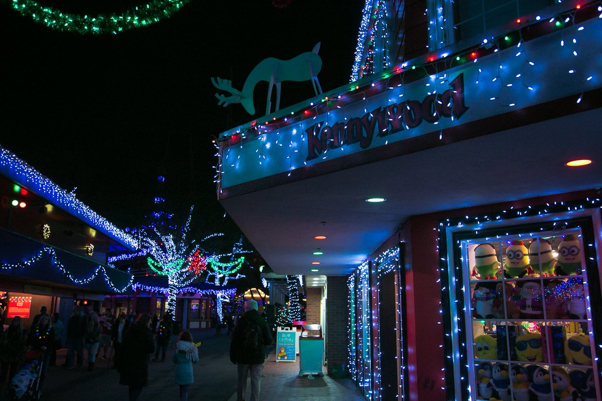 Kennywood Christmas.Kennywood Park On Twitter Holiday Lights Is A Can T Miss