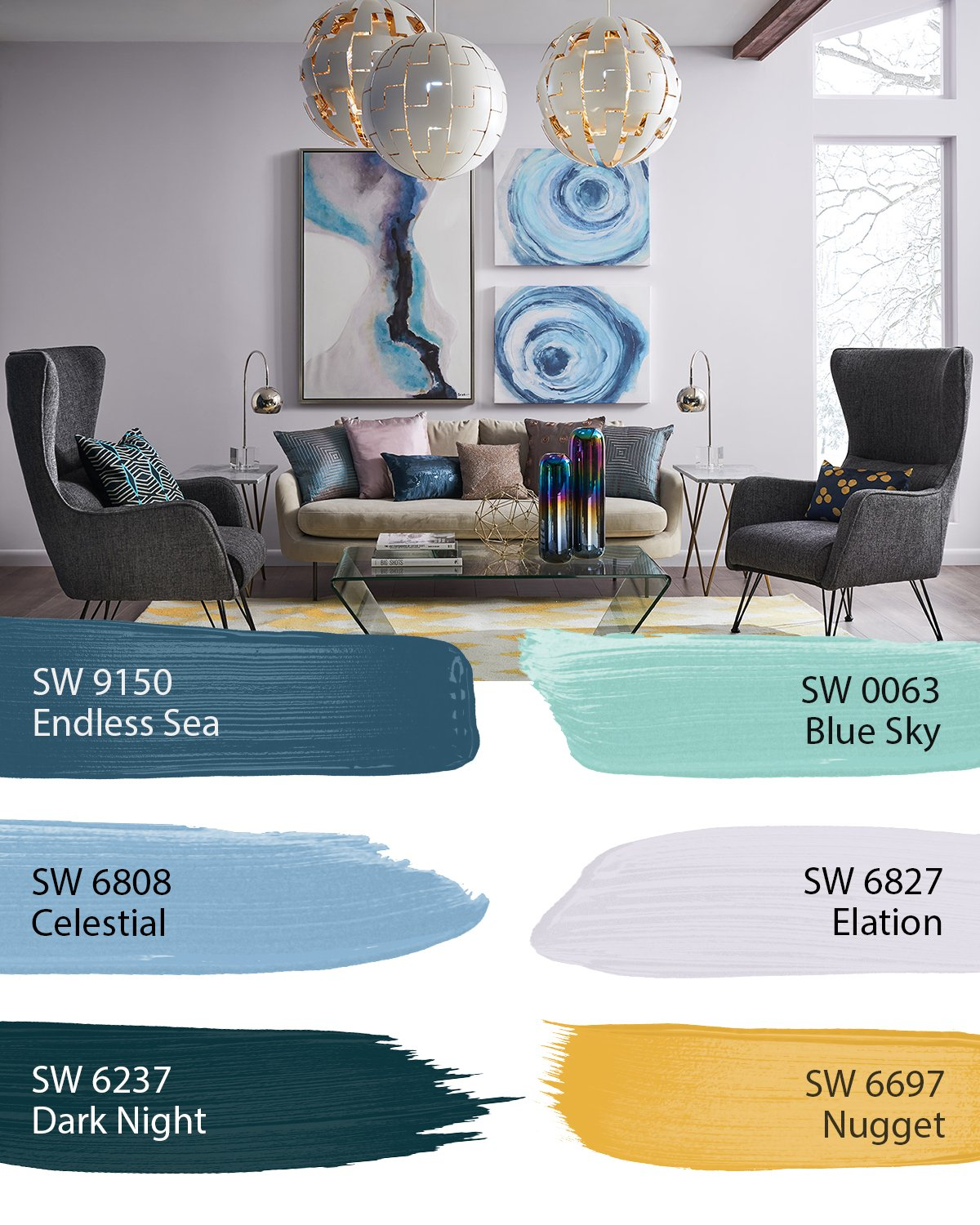 "Colorful Rooms With A View: Sherwin-Williams On Twitter: ""Colors From The Shapeshifter"