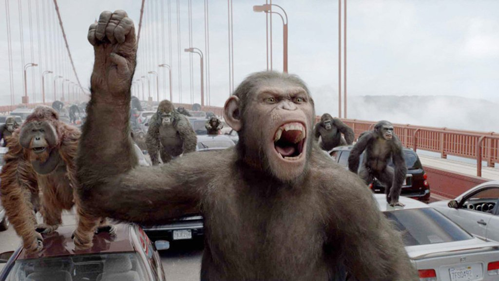 Rise Of The Planet of The Apes 2011 Dual audio