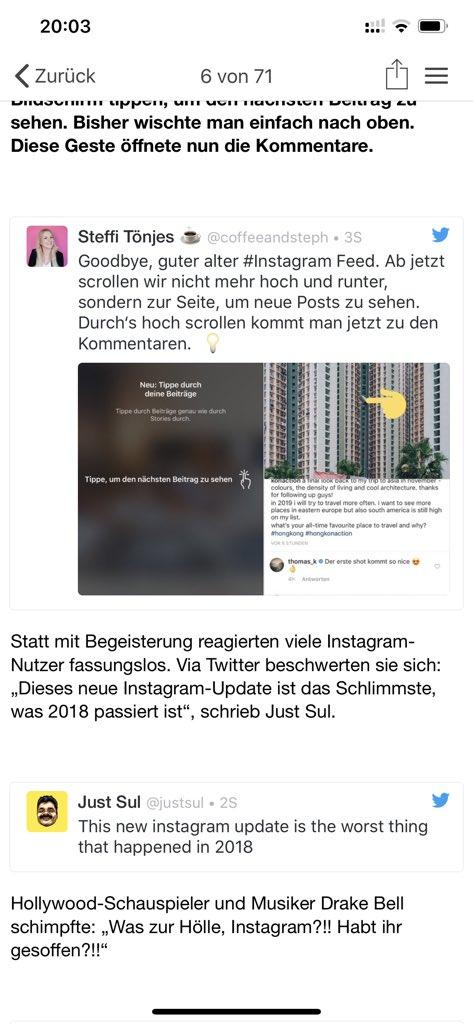 Steffi Tönjes On Twitter Goodbye Guter Alter Instagram Feed