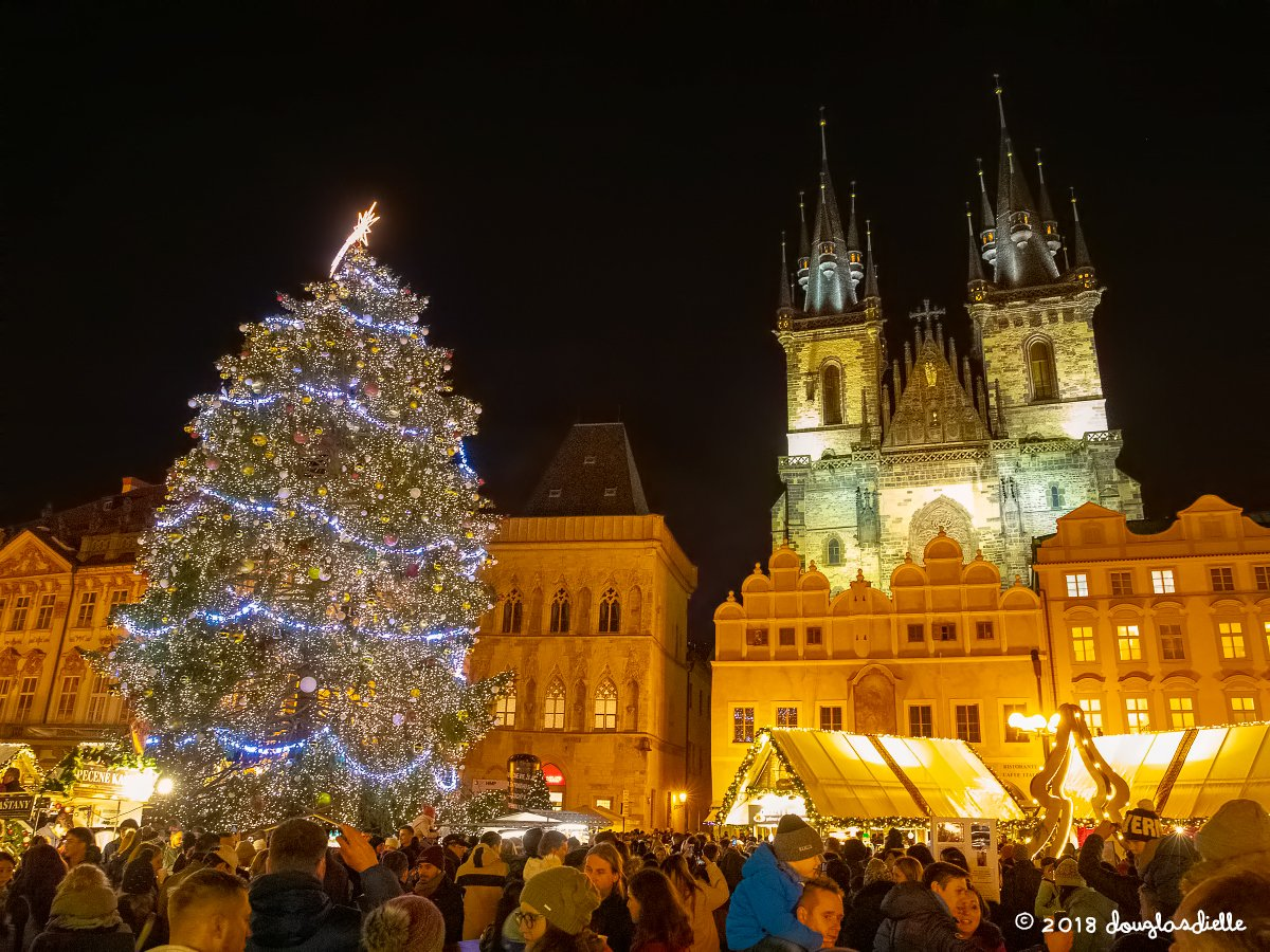 Old Town Square Christmas Market, Prague