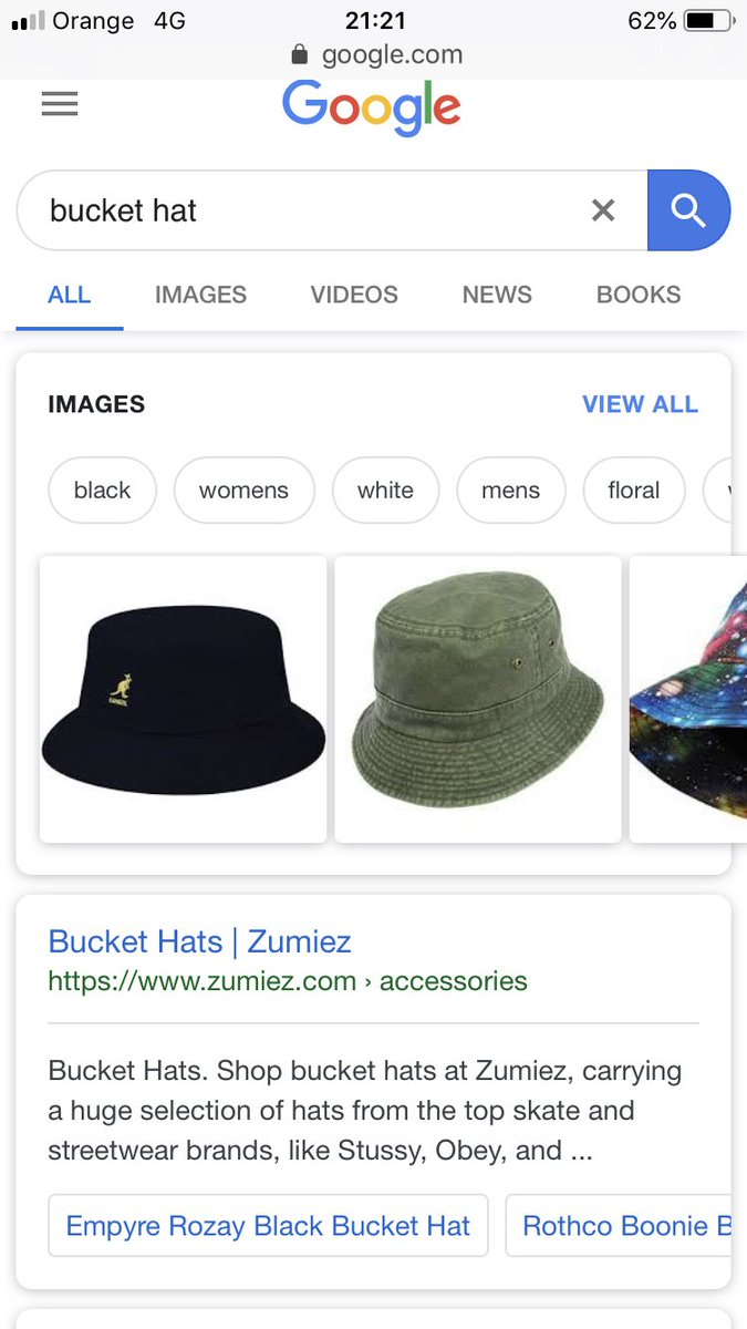 00f008c1796 Searched bucket hat on google and the first link was for zumiez ...