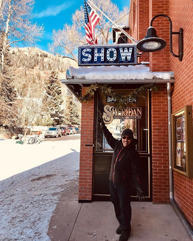 Getting ready for a sold out show at the Historic @sheridanoperahouse in Telluride Colorado http://bit.ly/2RfWWmd