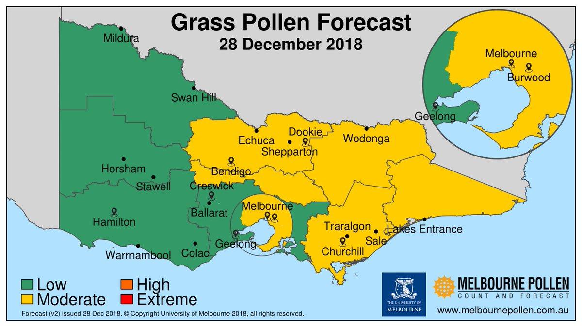 Sa pollen count