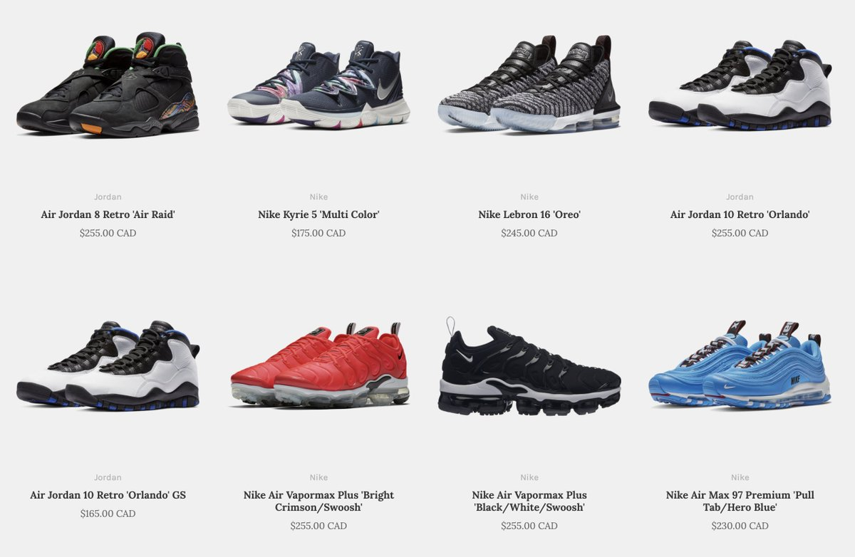 a9a1cad717 This is a great opportunity to pick up some Jordans or basketball shoes on  sale: http://ow.ly/WFRx30n7p2L pic.twitter.com/igmgqXGC5X