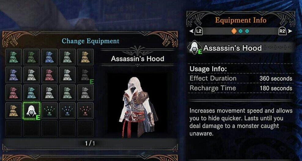 Assassin's Creed content has sneaked into Monster Hunter World