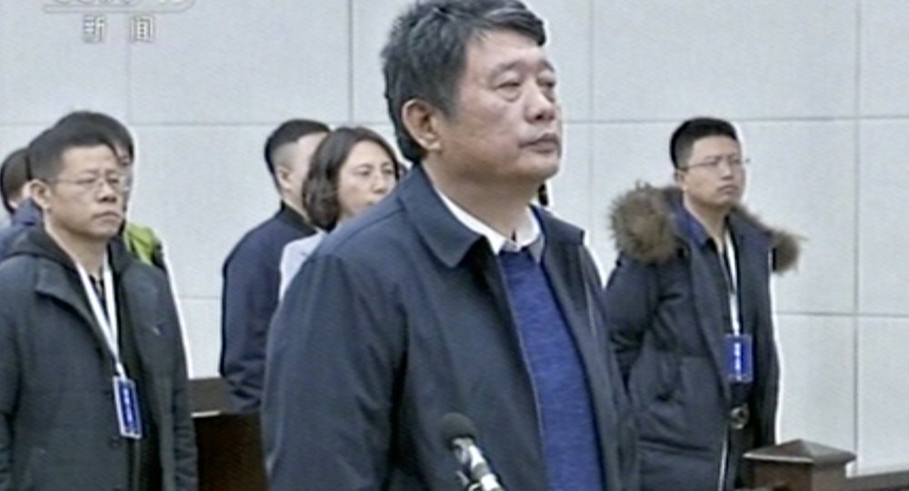 High-ranking Chinese intelligence officer jailed for life in #corruption case https://t.co/EdY9oBV86x  #China