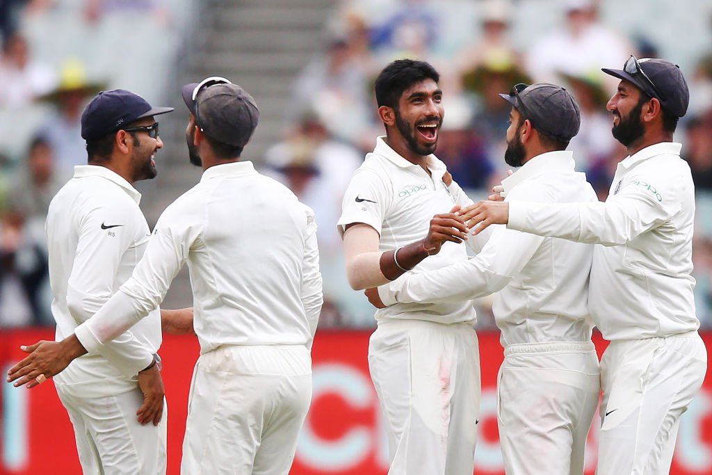 Bumrah barrage puts India in charge in Melbourne