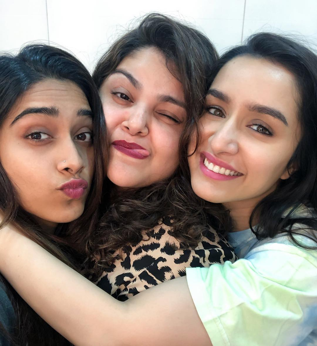 Last shooting day of the year! #Saaho  @ShraddhaKapoor @shraddhanaik26 #NikitaMenon 🥰✨💞