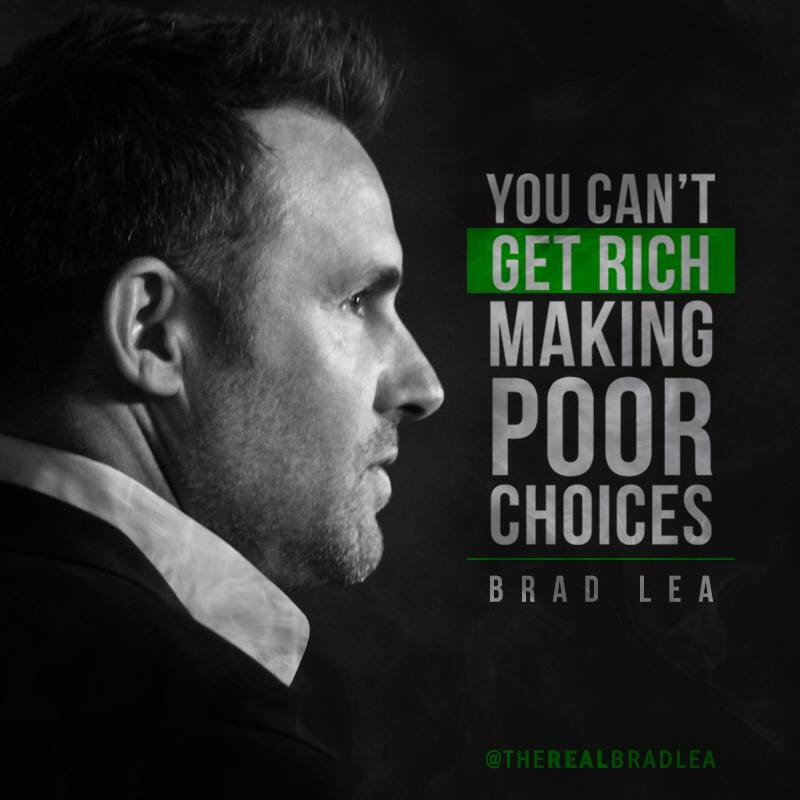 RT @TheRealBradLea: The choices you make DETERMINE the roads you take.   #FridayMotivation https://t.co/A2I8JPiqeL