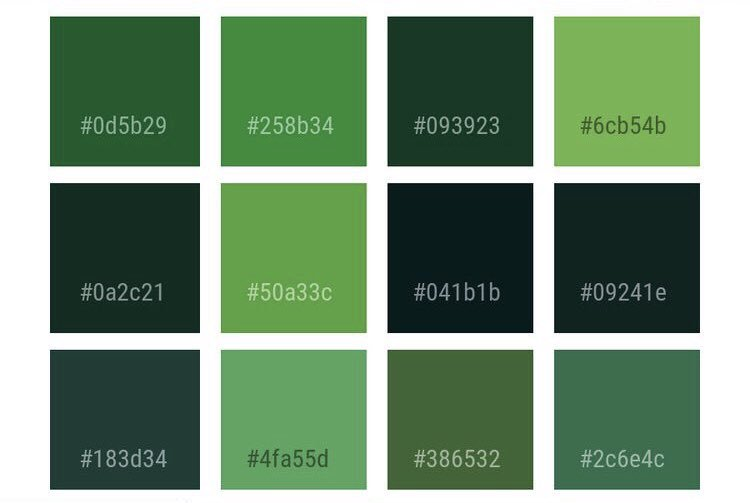 Interiors On Twitter Green For All