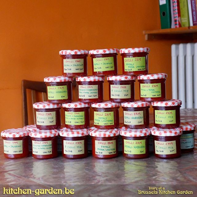 Brussels Kitchen Garden On Twitter Chilli Jam Christmas Presents