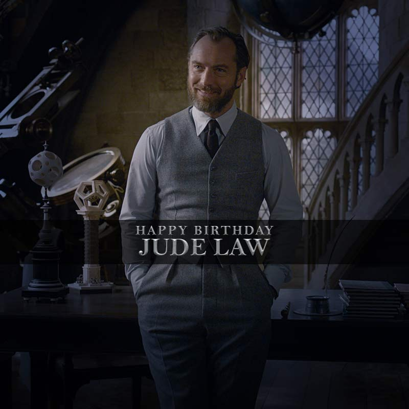 Happy Birthday to our favourite professor! #JudeLaw #FantasticBeasts