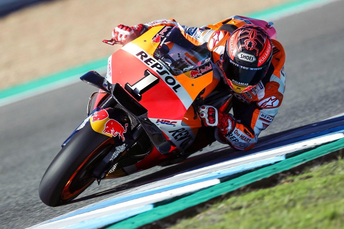 Marc Marquez unggah foto pasang nomor 1 di motor Hondanya