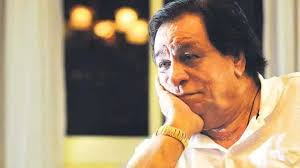 T 3041 - KADER KHAN .. actor writer of immense talent .. lies ill in Hospital .. PRAYERS and DUAS for his well being and recovery .. saw him perform on stage, welcomed him and his prolific writing for my films .. great company, a Libran .. and many not know , taught Mathematics !