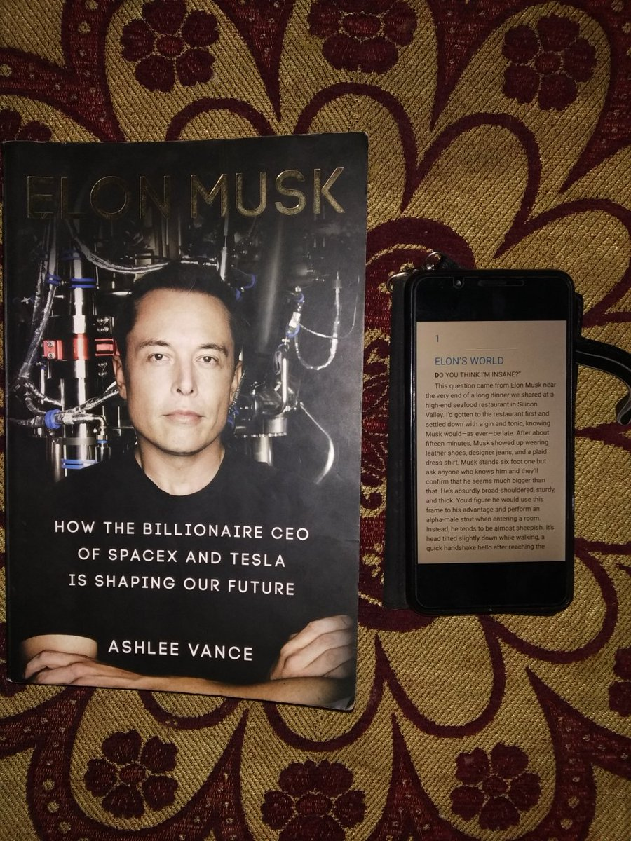 Book Review: Elon Musk by Ashlee Vance https://theenigmaticcreation.wordpress.com/2018/12/28/book-review-elon-musk-by-ashlee-vance/ …