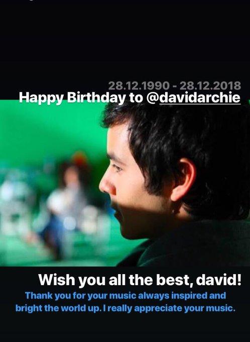 Happy birthday, my inspiration!!!!  I love you so much, David Archuleta!