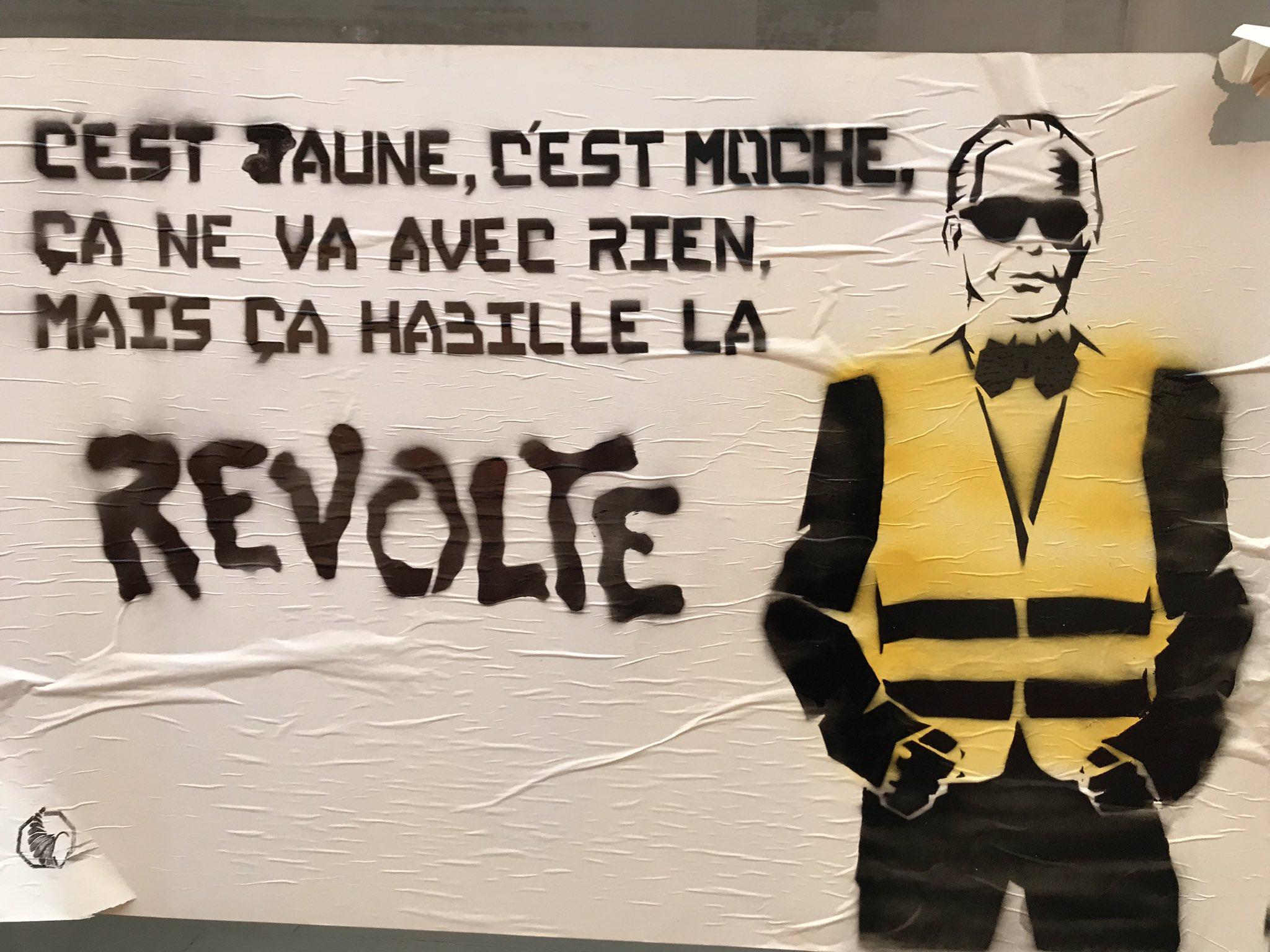 LES LUTTES EN FRANCE vers la restructuration politique (Gilets jaunes) : les débats continués 17 déc.- mars 2019 Dvg79uiW0AE6_ex