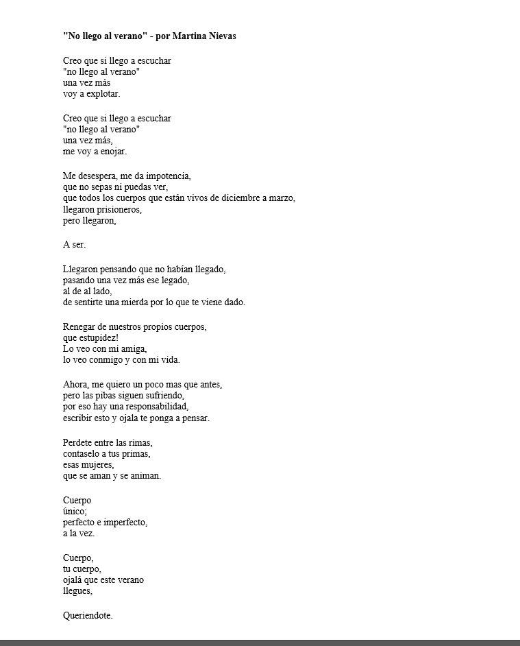 Martina Nievas On Twitter Toda La Reflexion Del Post De