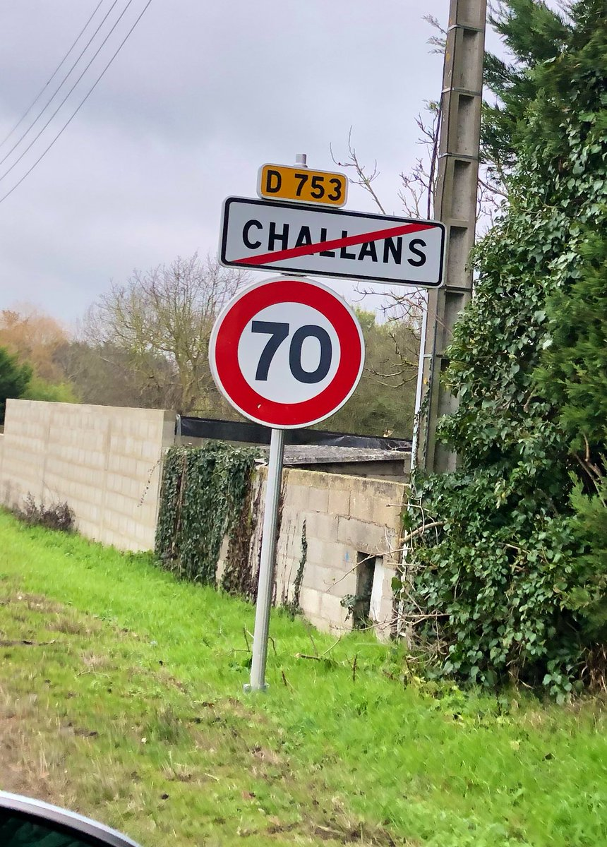 Change in french speed limits