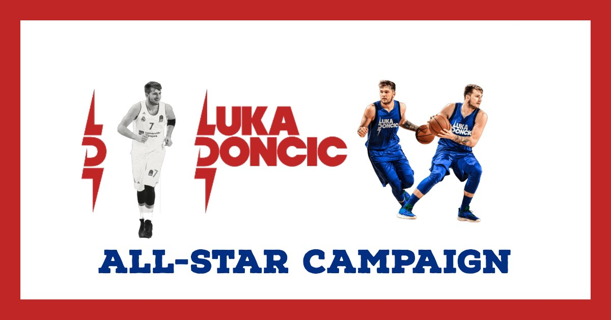 It's time to vote for @luka7doncic to get him into the All-Star Game! You can vote 3 times every day, one on the NBA app, one on the NBA site and one on google. What are you waiting for? #MFFL #NbaTipo #NBARooks #NBA @dallasmavs